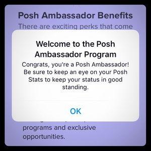 Other - I'M A POSHMARK AMBASSADOR!!